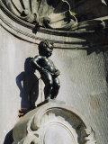 Manneken Pis Statue, Brussels, Belgium Photographic Print by Nigel Francis