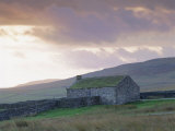 Farm Building, Swaledale, Yorkshire Dales National Park, Yorkshire, England, UK, Europe Photographic Print by Mark Mawson