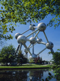 The Atomium, Brussels, Belgium Photographic Print by Nigel Francis