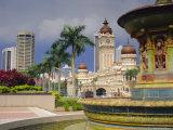 Sultan Abdul Samad Building, Kuala Lumpur, Malaysia, Asia Photographic Print by John Miller