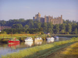 Arundel Castle and River, Arundel, Sussex, England Photographic Print by John Miller