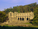 Rievaulx Abbey, Old Cistercian Abbey, Ryedale, North Yorkshire, England, UK, Europe Photographic Print by John Miller