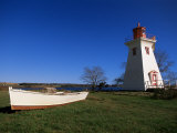 Lighthouse at Victoria by the Sea, Prince Edward Island, Canada, North America Photographic Print by Alison Wright