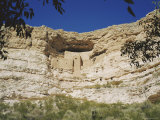 Montezuma Castle, Sinagua, Arizona, USA Photographic Print by Ken Wilson