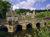 Old Bridge and Bridge Chapel, Bradford-On-Avon, Wiltshire, England, UK, Europe Photographic Print by John Miller