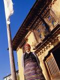 Sherpa Woman, Gapchu Monastery, Solu Khumbu, Nepal Photographic Print by Alison Wright