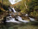 Waterfall, Mosedale Beck, Wastwater, Lake District, Cumbria, England, UK, Europe Photographic Print by Pearl Bucknell