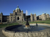 Parliament Building, Victoria, British Columbia (B.C.), Canada, North America Photographic Print by Alison Wright