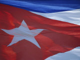 National Flag, Cuba, West Indies, Central America Photographic Print by Dominic Webster