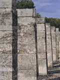 The Group of a Thousand Columns, Chichen Itza, Yucatan, Mexico, Central America Photographic Print by Robert Harding