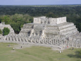 Temple of the Warriors, Chichen Itza, Mexico, Central America Photographic Print by Robert Harding