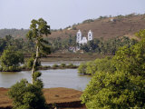 Church of Our Lady of Hope Near Candolim, Goa, India Photographic Print by Michael Short