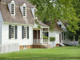 House in Nicholson Street, Dating from Colonial Times, Williamsburg, Virginia, USA Photographic Print by Pearl Bucknell