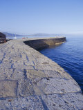 The Cobb, Lyme Regis, Dorset, England Photographic Print by John Miller