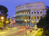 Colosseum, Rome, Lazio, Italy, Europe Photographic Print by John Miller