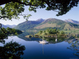 Moored Yachts in Bishop's Bay, Loch Leven, Highlands, Scotland, UK Photographic Print by Nigel Francis