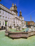 Piazza Navona, Rome, Lazio, Italy Photographic Print by John Miller
