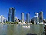 City Skyline, Brisbane, Queensland, Australia Photographic Print by Mark Mawson