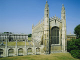 Kings College Chapel, Cambridge, England Photographic Print by Nigel Francis