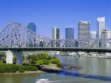 The Storey Bridge and City Skyline, Brisbane, Queensland, Australia Photographic Print by Mark Mawson