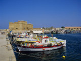 Paphos Harbour, Cyprus, Europe Photographic Print by John Miller