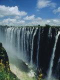 Victoria Falls, Zimbabwe, Africa Fotografisk tryk af Dominic Webster