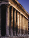 Maison Carre, Roman Building, Nimes, Languedoc, France, Europe Photographic Print by John Miller