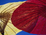 Colourful Paper Umbrellas, Bor Sang, Chiang Mai, Thailand, Asia Photographic Print by Dominic Webster