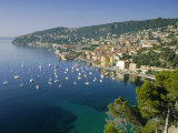 Villefranche Sur Mer, Cote d'Azur, Mediterranean Coast, Provence, France, Europe Photographic Print by John Miller