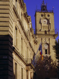 Tour De L'Horloge and Town Hall, Aix En Provence, Provence, France, Europe Photographic Print by John Miller