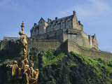 Edinburgh Castle, Edinburgh, Lothian, Scotland, UK, Europe Photographic Print by Roy Rainford