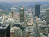 Aerial View of Johannesburg City Center, Photographic Print