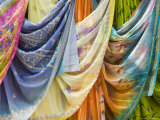 Famous for Its Hand Woven Fabrics,Maheshwar, Madhya Pradesh, India Photographic Print by Robert Harding