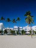 Ocean Drive, South Beach, Miami Beach, Florida, USA Photographic Print by Fraser Hall