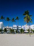 Ocean Drive, South Beach, Miami Beach, Florida, USA Photographic Print by Fraser Hall