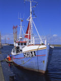 Fishing Boat, Island of Aero, Denmark, Scandinavia, Europe Photographic Print by Robert Harding