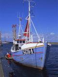 Fishing Boat, Island of Aero, Denmark, Scandinavia, Europe Photographic Print by Robert Harding