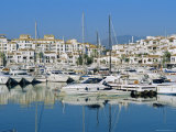 Puerto Banus Near Marbella, Costa Del Sol, Andalucia, Spain Photographic Print by Fraser Hall