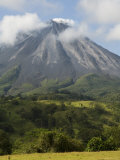Arenal Volcano from the La Fortuna Side, Costa Rica Photographic Print by Robert Harding