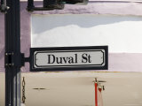 Duval Street, Key West, Florida, United States of America, North America Photographic Print by Robert Harding