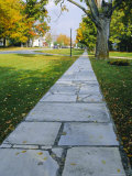 Manchester, Vermont, Known for It's Marble Sidewalks, One of Americas Oldest Resorts Photographic Print by Fraser Hall