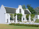 Cape Dutch Architecture, Early 19th C. Stellenbosch, South Africa Photographic Print by Fraser Hall