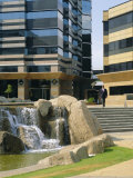 Sandton, New Financial District of Johannesburg, South Africa Photographic Print by Fraser Hall