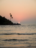 Sunset Over the Arabian Sea, Mobor, Goa, India Photographic Print by Robert Harding