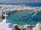 Mykonos Town, Mykonos, Greece Photographic Print by Fraser Hall