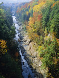 The Ottauquechee River, Quechee Gorge, Vermont, USA Photographic Print by Fraser Hall