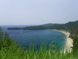 Beach on the Adriatic Coast, Near Budva, Montenegro, Europe Photographic Print by Graham Lawrence