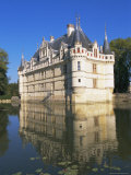 Azay Le Rideau Chateau, Loire Valley, Unesco World Heritage Site, Centre, France, Europe Photographic Print by Guy Thouvenin