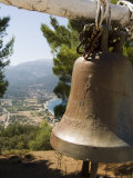 Church Bell Near Sami, Kefalonia (Cephalonia), Greece, Europe Photographic Print by Robert Harding