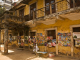 Decaying House in Panaji Formerly Known as Panjim, Goa, India Photographic Print by Robert Harding